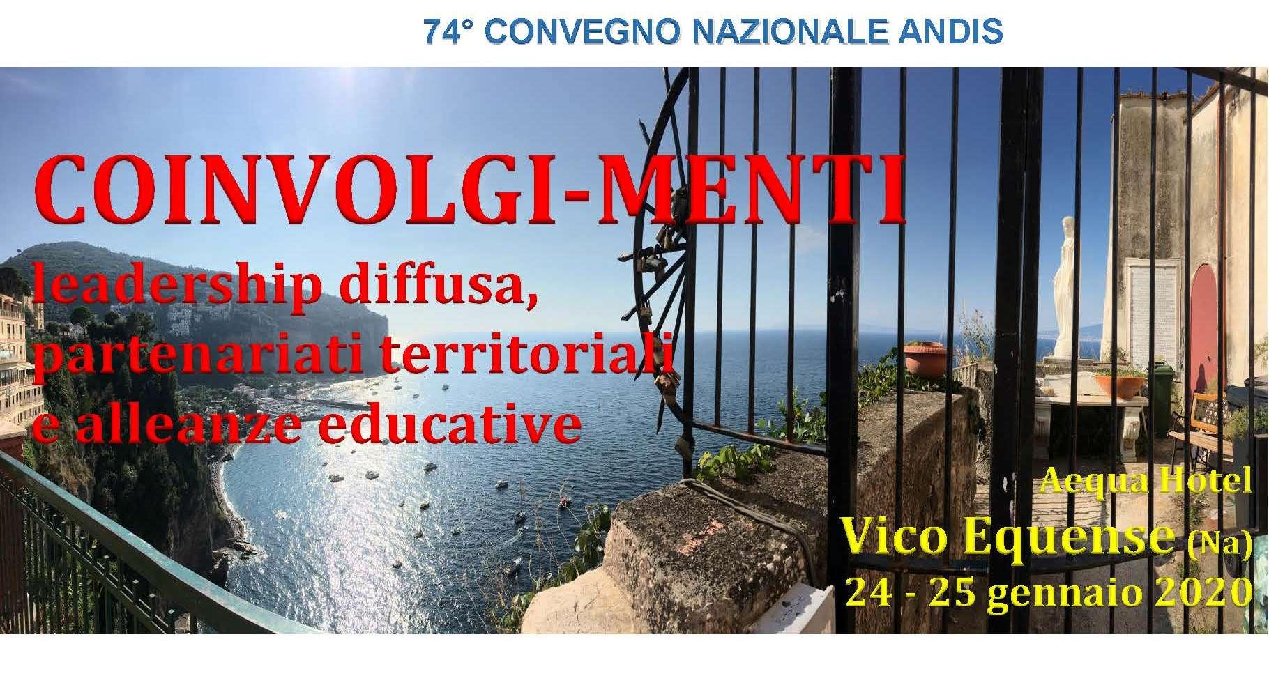 PROGRAMMA 74° CONVEGNO NAZIONALE Vico Equense (NA)